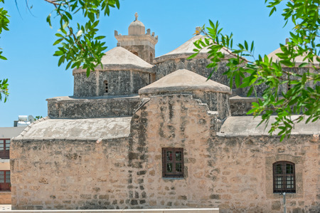 Medieval church of Agia Paraskevi in Paphos. Cyprus Stock Photo