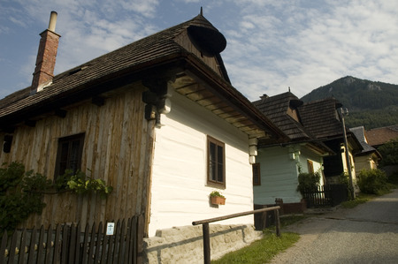 folk heritage: Vlkolínec is part of the UNESCO World Heritage since 1993, and one of ten Slovak villages that have a status of a village preserve. It is because of being an untouched and complex example of folk countryside architecture of this region of the Northern Car