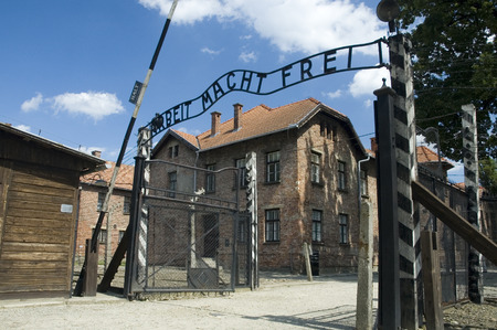 Konzentrationslager Auschwitz was the largest of the German Nazi concentration and extermination camps. Located in southern Poland it took its name from the nearby town of Oswiecim (Auschwitz in German), situated about 50 kilometers west of Kraków and 286 photo