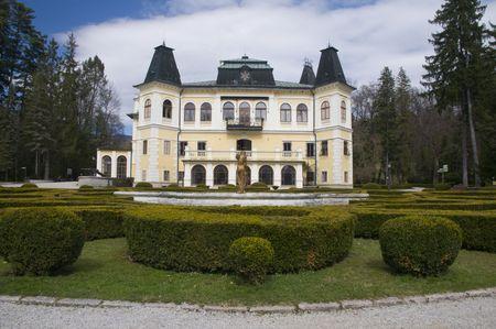 herrenhaus: Slowakei, Betliar, Herrenhaus von der Andr�ssy-gebaut