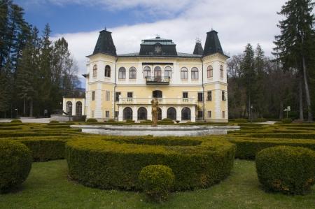 Slovakia, Betliar, manor house built by the Andrássy