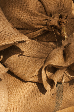 biodegradable material: Jute bags with nice texture
