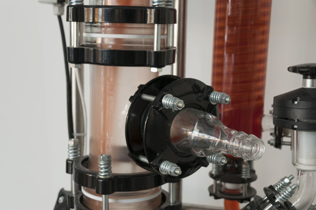 filtration: Detail of air filtration and purification system