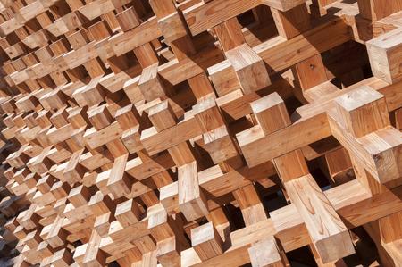 estructura: decoración de la pared de madera de estilo japonés