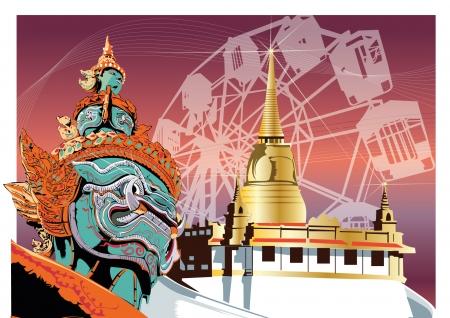 yak: Thailand YAK    Illustration