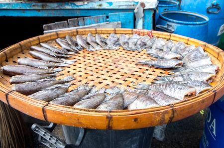 the Dried fish taste Reklamní fotografie