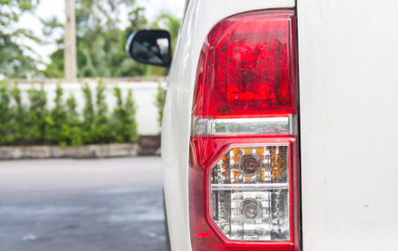 taillight: the taillight for car Stock Photo