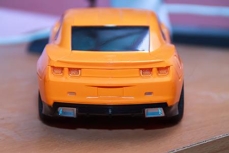 rc: the orange RC Cars Stock Photo