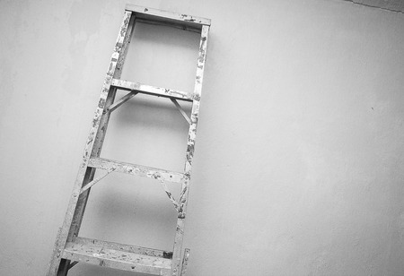 contruction: aluminum ladder fot the contruction