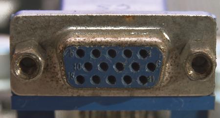 vga: el puerto VGA en la placa base
