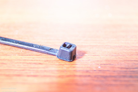 cable tie: the Cable tie for use cable network resources