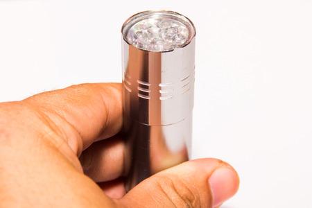 torchlight: Shine a flashlight for night