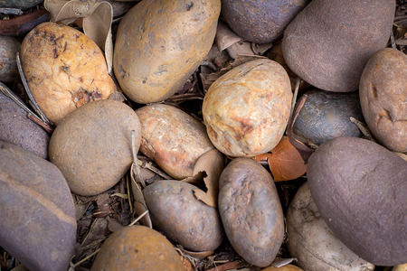 river rock: Rocks is the background Stock Photo