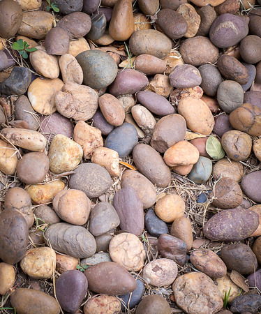cobblestone: Rocks is the background Stock Photo