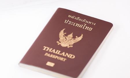 foreign land: the passport is book before into land.