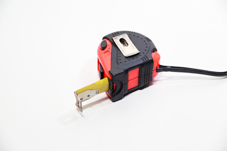 measuring tape: the Measuring Tape is the equipment  for measure Stock Photo