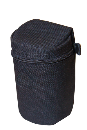 the bag is case using for lens camera