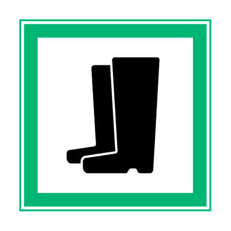 Wear Safety Footwear. Protective Safety Boots.Work only in boots