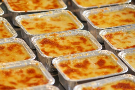 Thai Homemade Lasagna Stock Photo