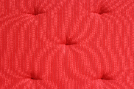upholster: Red Cushion Stock Photo