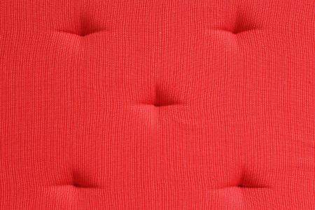 davenport: Red Cushion Stock Photo