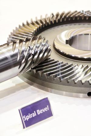 Spiral Bevel Gear Shaft