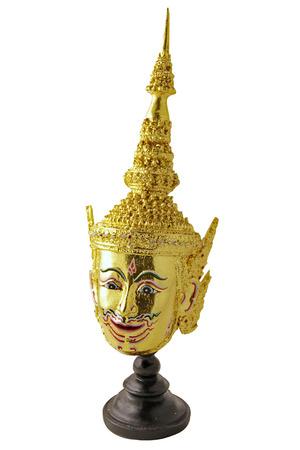 rama: Lord Rama Mask Stock Photo