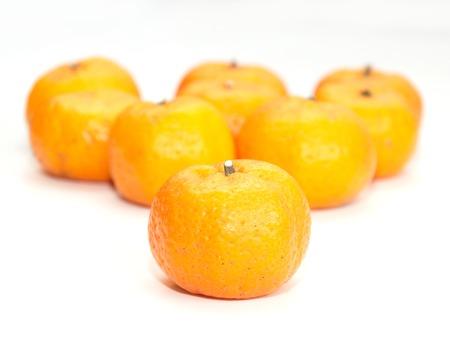citrus  sinensis: Mandarin Orange, Citrus sinensis Stock Photo