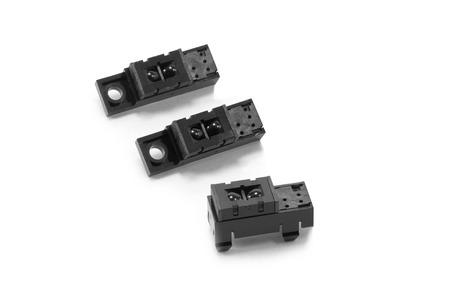 sensing: Closed up Photomicrosensor - slot sensor or  light sensor