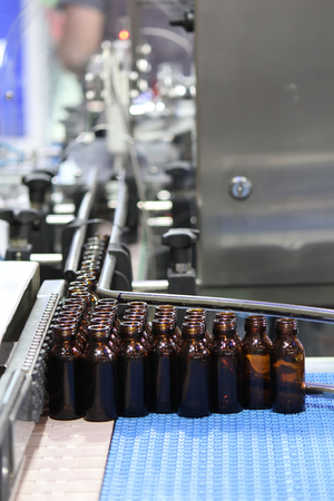 bottling line: Closed up Bottling Process in the industry