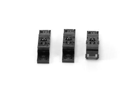 closed up: Closed up Photomicrosensor - slot sensor or  light sensor