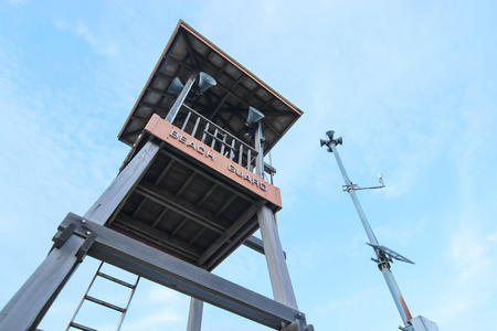 life guard stand: Life Guard tower in Rayong, Thailand