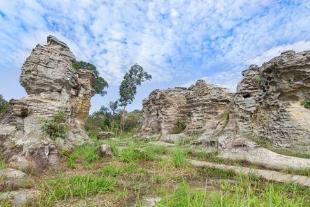 pa: Pa Hin Ngam National Park in Chaiyaphum, Thailand