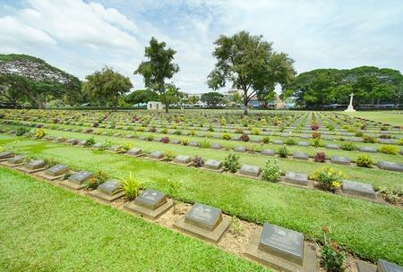 칸차나 부리, 태국의 깐짜나부리 전쟁 묘지
