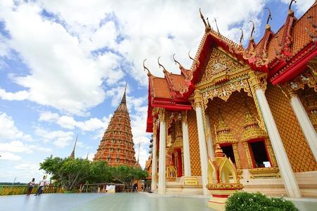 カンチャナブリ、タイ - 2017 年 7 月 7 日: ワット ・ タム ・ Sua はカンチャナブリ、タイで最も美しい寺院です。2017 年 7 月 7 日