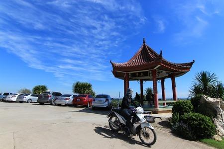 CHIANG RAI, THAILAND - November 22, 2016: Choui Fong Tea plantation is in Chiang Rai, Thailand. Its one of most popular destination for tourism trip in Chiang Rai, Thailand.