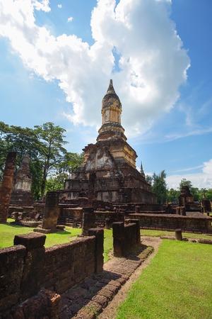 Wat Nang Phaya in Si Satchanalai Historical Park, Sukhothai, Thailand.