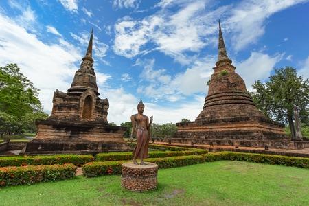 Wat Sa Si in Sukhothai Historical Park, Sukhothai province, Thailand