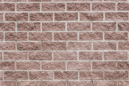 The brown block wall background Stock Photo