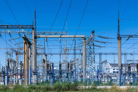 The electrical or power substation