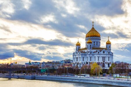 The Cathedral of Christ the Savior 스톡 콘텐츠