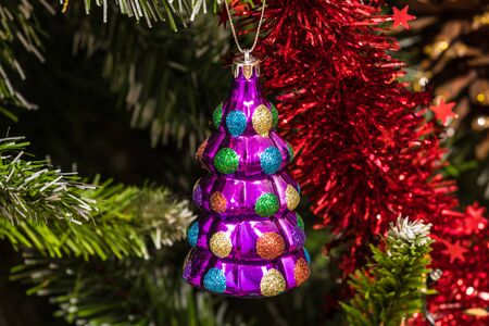 Christmas tree ornament toy