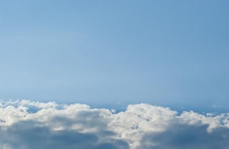 wonderfull: a wonderfull sky with cloudy in summer