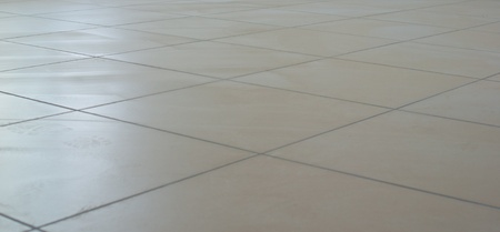 a beautiful tile floor of a very large  photo