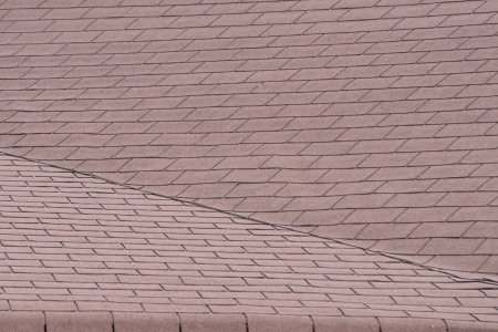 tiles of a roof under sun in summer photo
