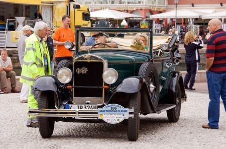praga: Praga Typ Alfa on ADAC Trentino Classic; oldtimer excursion with historical and classical cars; Riva del Garda, Italy, 17-21.9.2008