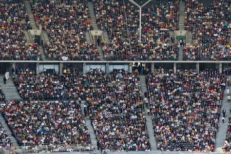 poblacion: Multitud en el estadio