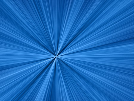zooming: Blue abstract background; zooming effect