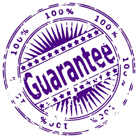 Illustration of a grunge rubber ink stamp on white background Vector