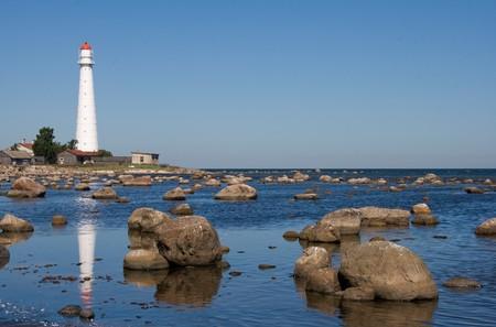 navigational light: Lighthouse on Tahkuna peninsula, Hiiumaa, Estonia